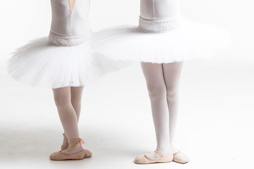 バレエのシューズ